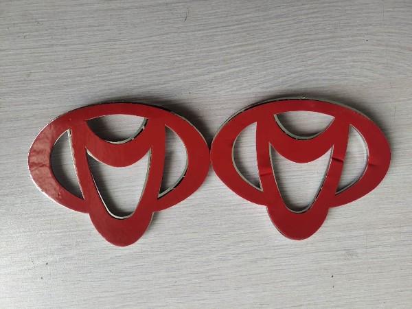 国产泡棉双面胶车标