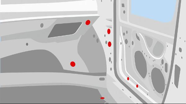 车身堵孔应用场景