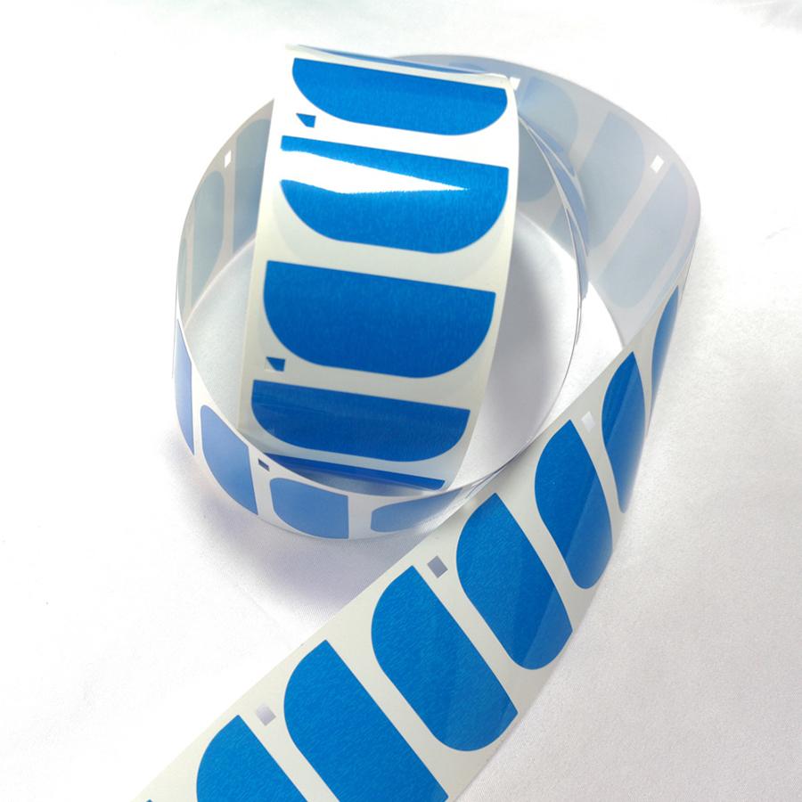 蓝色保护膜