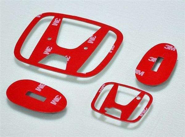无锡思美达双面胶车标模切加工件
