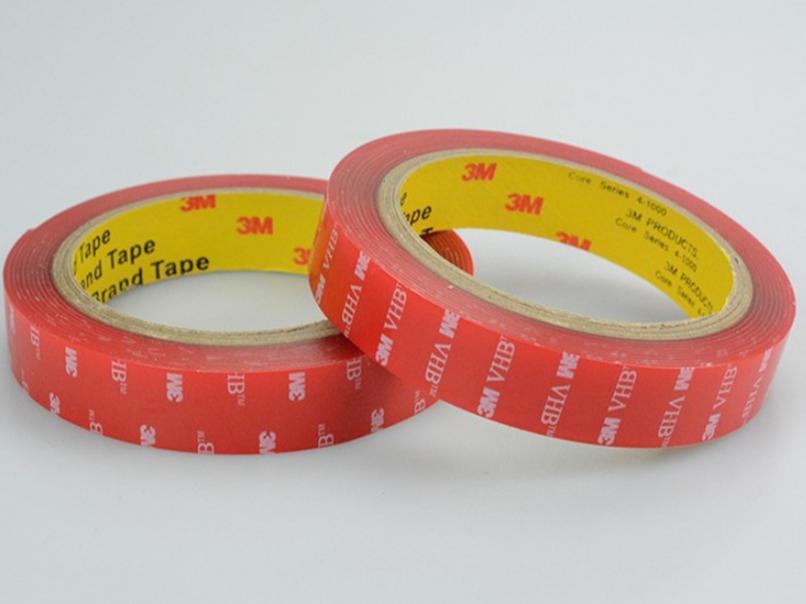 强力3m4910VHB双面胶带 亚克力丙烯酸pet透明耐高温胶带 厚1mm