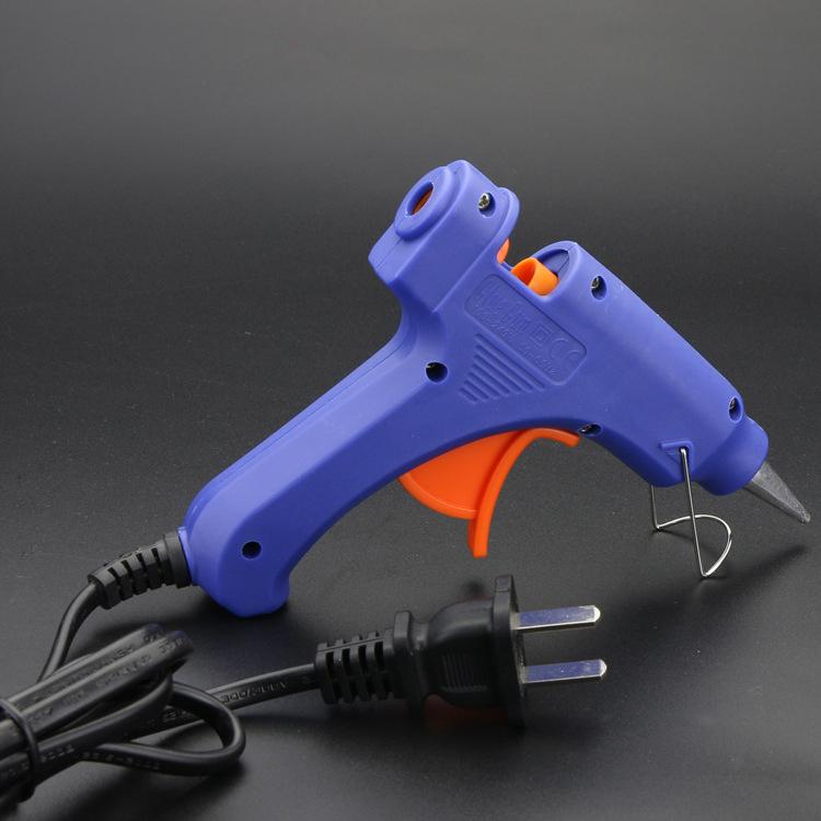 蓝色小胶枪