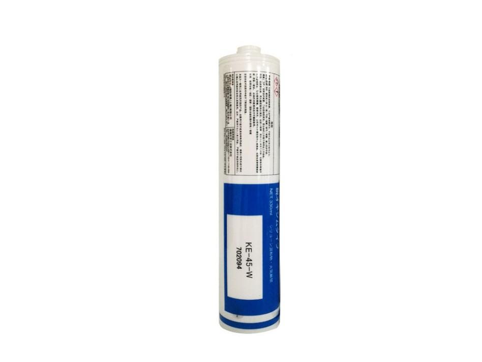 日本信越KE-45-T/W/R/G/B电子电器硅胶 绝缘UL阻燃密封胶粘剂