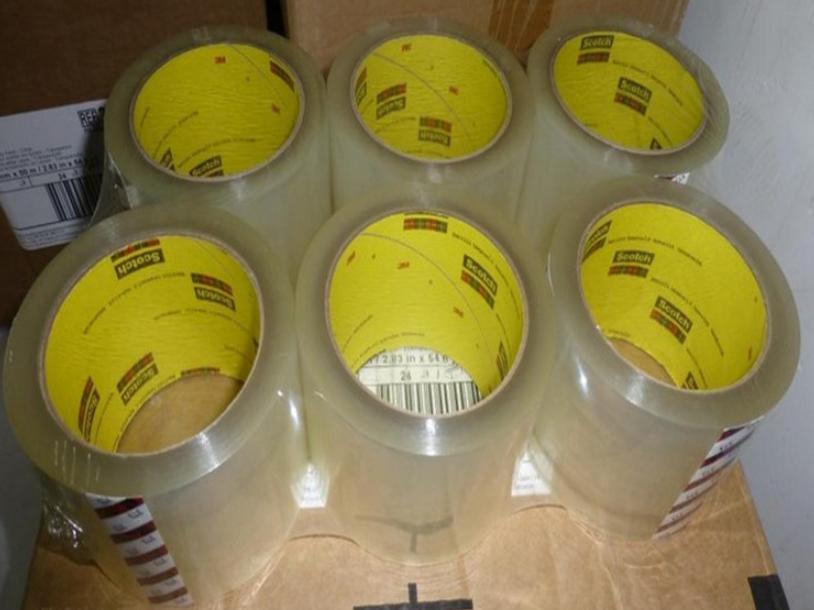 原装3m373封箱胶带 透明封口胶纸胶带 强粘力 工业打包胶带