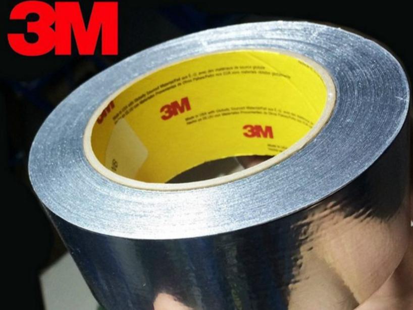 原装3m425金属铝箔纸胶带 导电导热耐高温金属胶带 模切加工