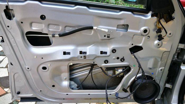 车门防水膜更换4