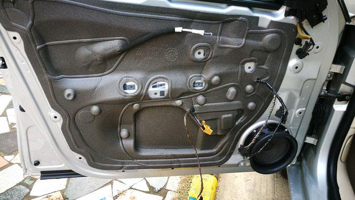 车门防水膜更换5