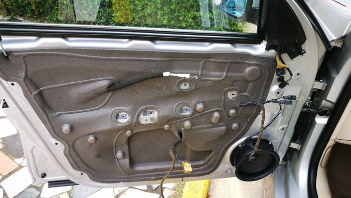 车门防水膜更换1