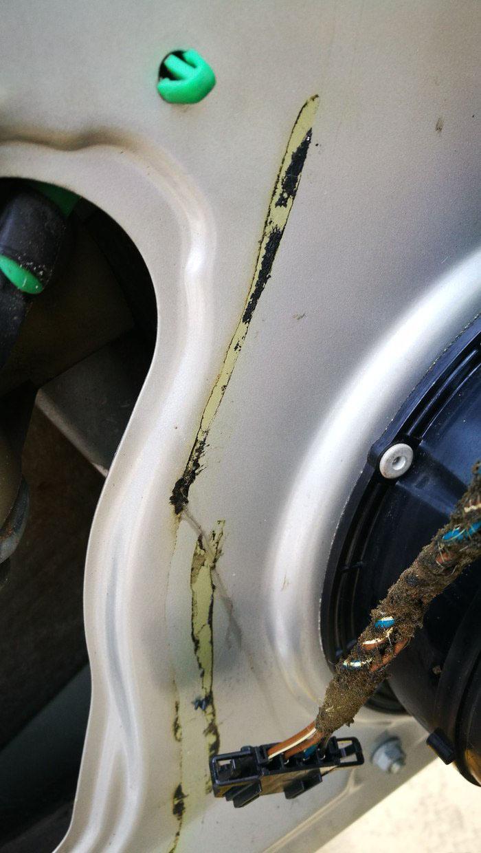 车门防水膜更换3
