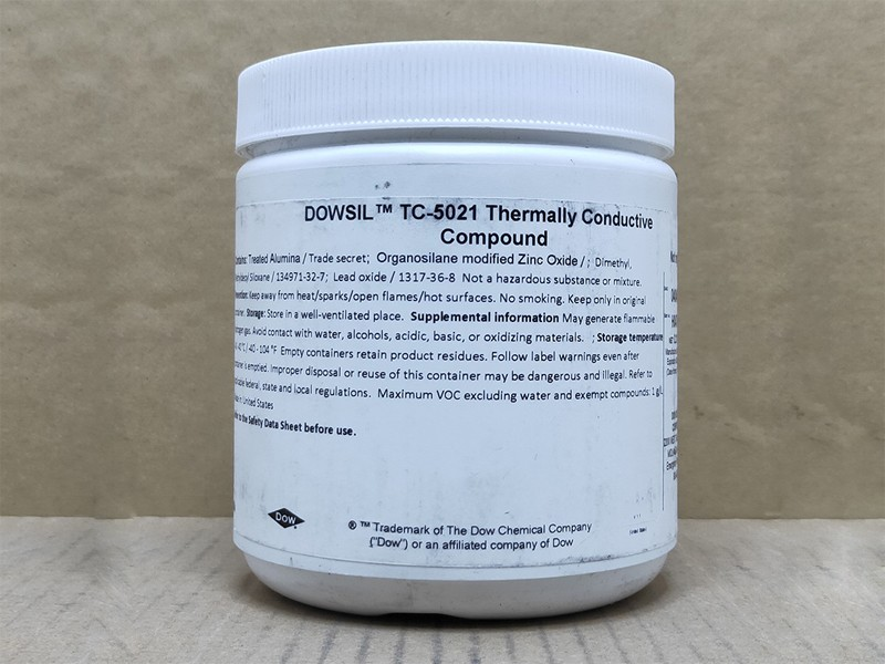 道康宁TC-5021导热胶CPU散热膏LED散热胶电源模块导热硅脂导热