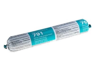 道康宁791中性硅酮建筑耐候密封胶 玻璃幕墙结构胶粘剂 黑白灰