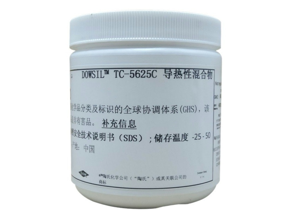 道康宁TC-5625C导热硅脂cpu散热膏大功率变频器导热LED导热膏1kg