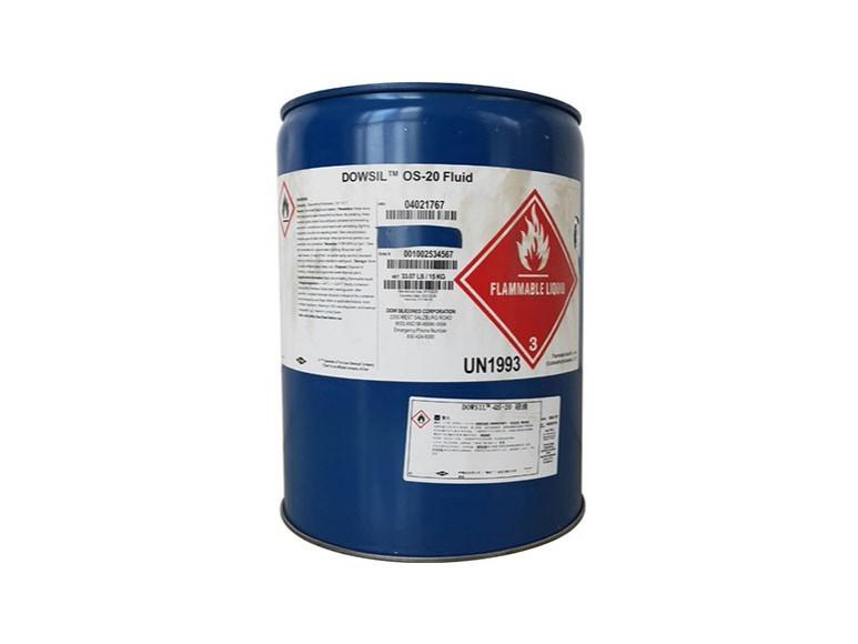 道康宁OS-20硅油OS-30挥发性溶剂甲基硅氧烷清洗剂 添加溶剂15kg