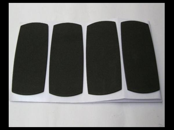 汽车黑色针刺无纺布 毛毡绒面特殊车用面料衬垫定制加工