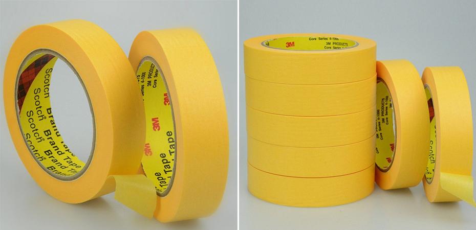 3M244黄色和纸胶带图