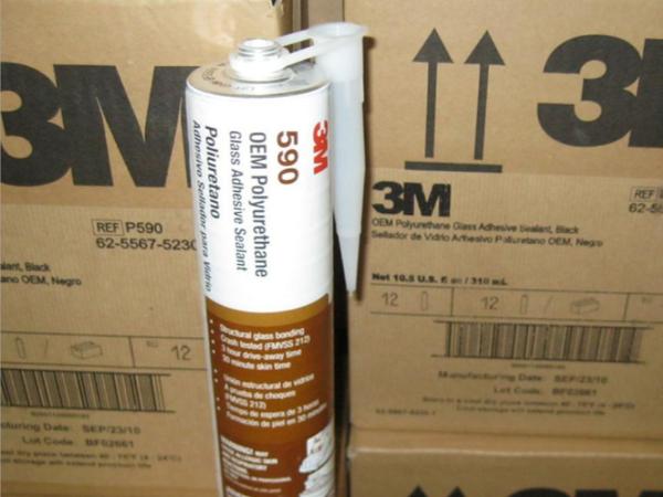 3M590密封胶 高拉伸强度的建筑玻璃粘合剂