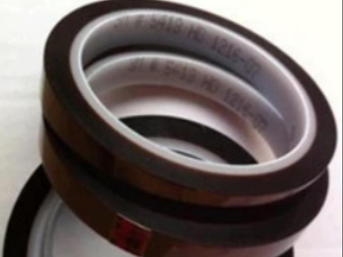 原装3m金手指胶带 3m5413D茶色高温胶 聚酰亚氨薄膜胶带 遮避胶带
